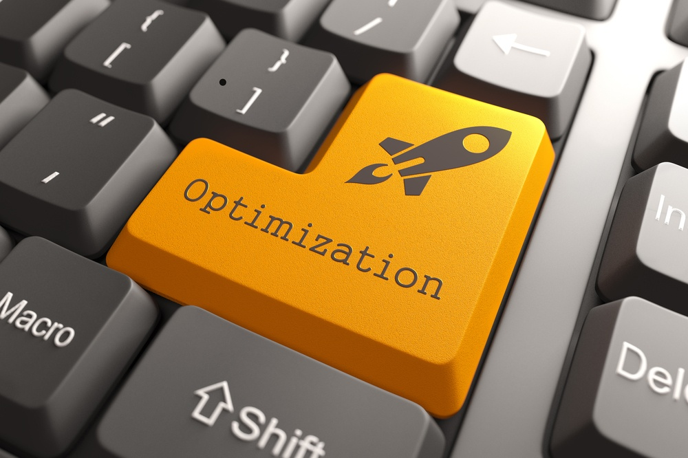 SEO optimization button